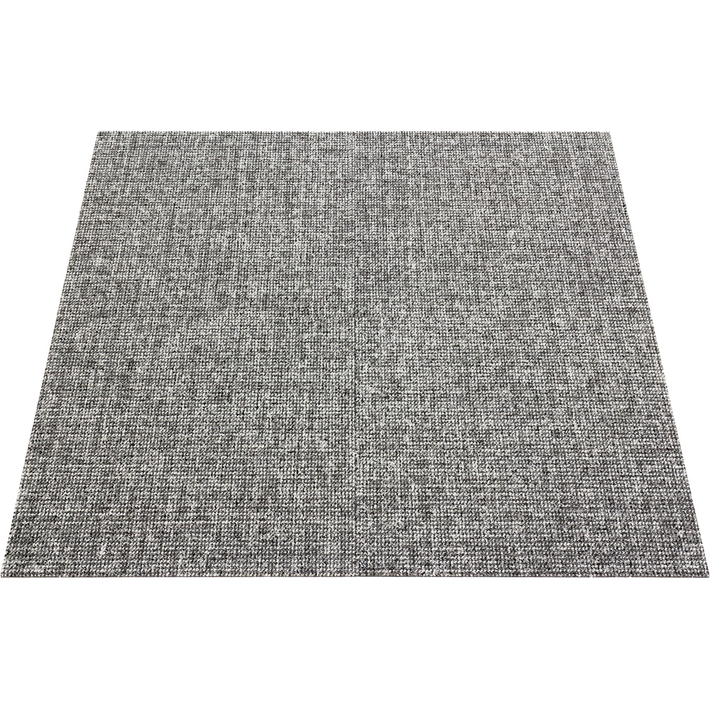 Heavy Contract Carpet Tile Mottled Commercial Grey