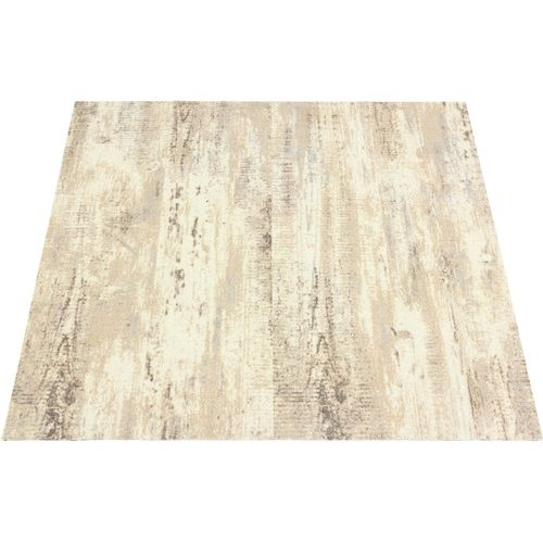 Heavy Duty Carpet Tile Wood Design beige cream 100x25 cm