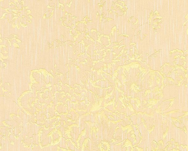 Textile Wallpaper flower beige gold Architects Paper 30657-3 online kaufen