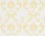 Textile Wallpaper ornament white gold Architects Paper 30658-1 001