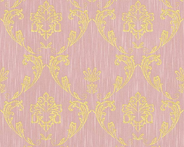 Textile Wallpaper ornament rose gold Architects Paper 30658-5