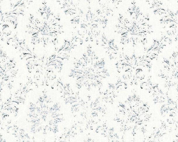 Textile Wallpaper baroque white Architects Paper 30662-1