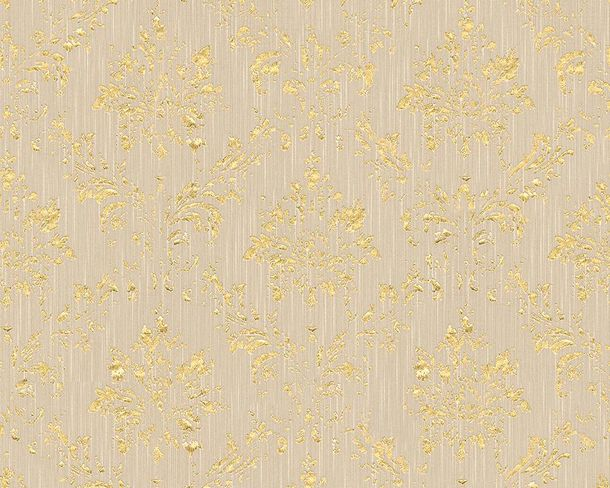 Textile Wallpaper baroque grey gold Architects Paper 30662-4