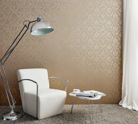 Textile Wallpaper baroque taupe gold Architects Paper 30662-5 online kaufen