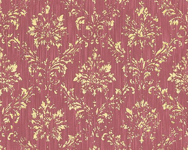 Textile Wallpaper baroque red gold Architects Paper 30662-6