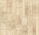 Kitchen Wallpaper ethno wood vintage beige brown 33089-4 001