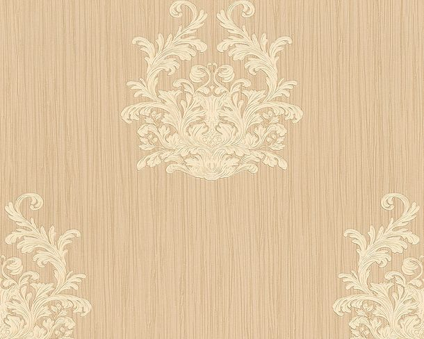 Wallpaper baroque beige Gloss Architects Paper 95861-1