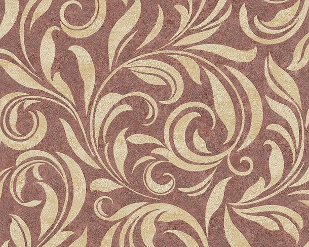Wallpaper tendrils red brown Gloss Architects Paper 95940-3 online kaufen