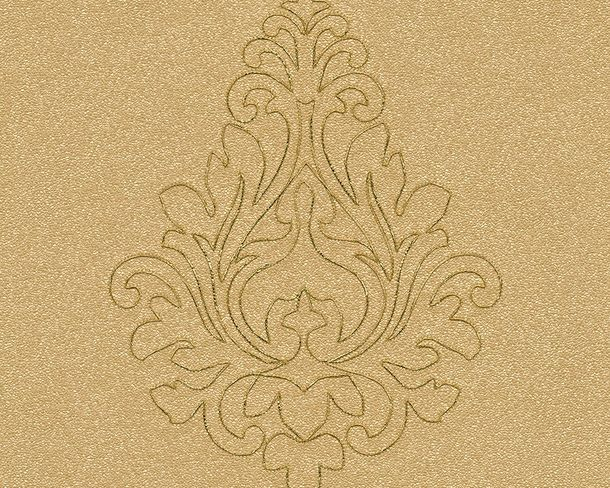 Wallpaper Panel ornaments ochre Gloss Architects Paper 96982-3 online kaufen