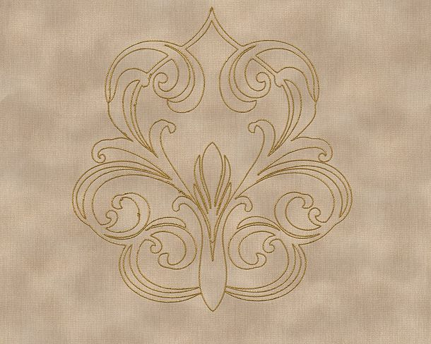 Wallpaper Panel baroque beige brown Gloss Architects Paper 96983-1 online kaufen