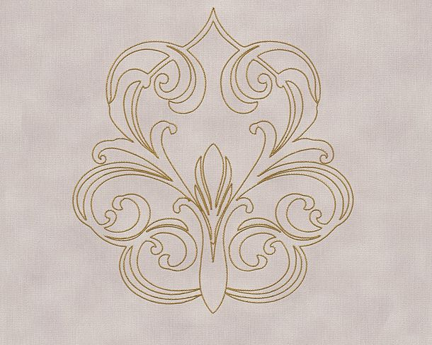Wallpaper Panel baroque lilac Gloss Architects Paper 96983-2