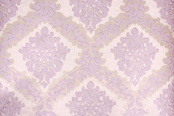 Wallpaper Fuggerhaus baroque silver lilac Gloss 4792-22
