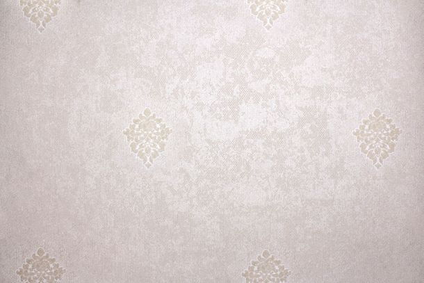 Wallpaper Fuggerhaus ornaments beige grey taupe Gloss 4794-44