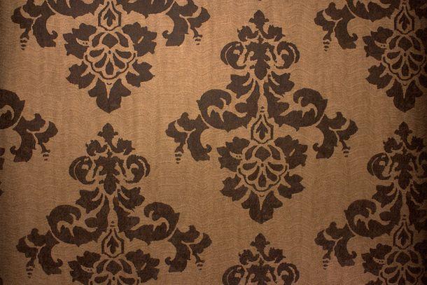 Wallpaper Fuggerhaus baroque vintage copper brown 4782-49