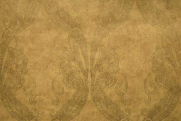 Wallpaper Fuggerhaus ornaments vintage gold brown 4785-39 online kaufen