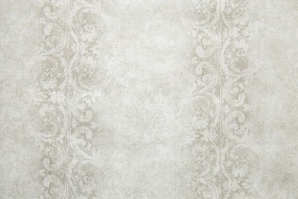 Wallpaper Fuggerhaus tendrils vintage beige grey 4786-07