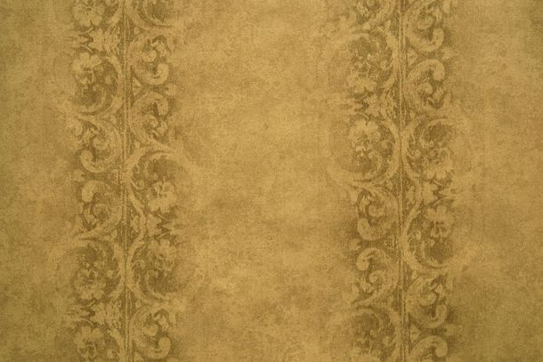 Wallpaper Fuggerhaus tendrils vintage gold brown 4786-45