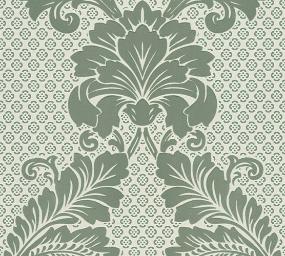 Flock Wallpaper ornament green Architects Paper 30544-3 online kaufen