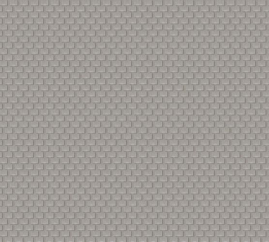 Wallpaper mesh silver grey Architects Paper 31908-3