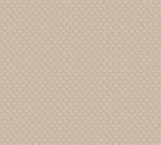 Wallpaper mesh beige grey Architects Paper 31908-6
