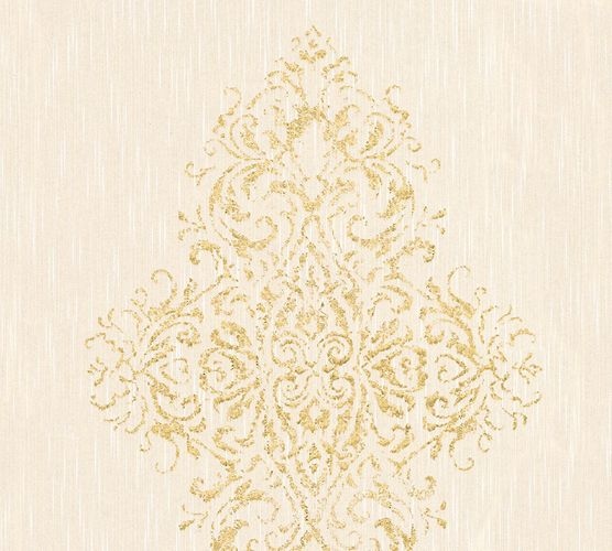 Textile Wallpaper baroque cream Architects Paper 31945-2 online kaufen