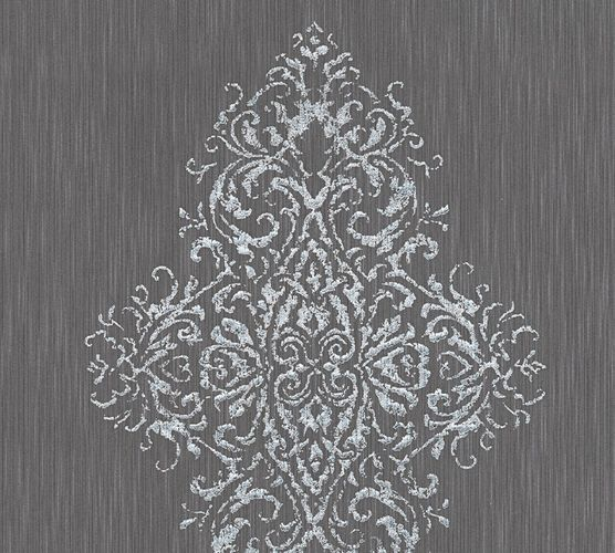 Textile Wallpaper baroque anthracite Architects Paper 31945-4 online kaufen