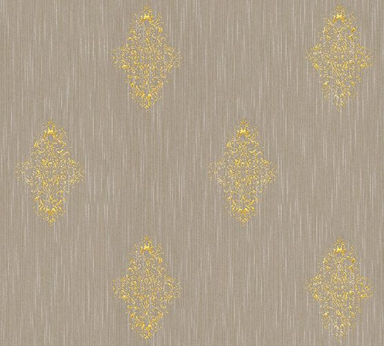Textile Wallpaper ornament taupe Architects Paper 31946-3 online kaufen