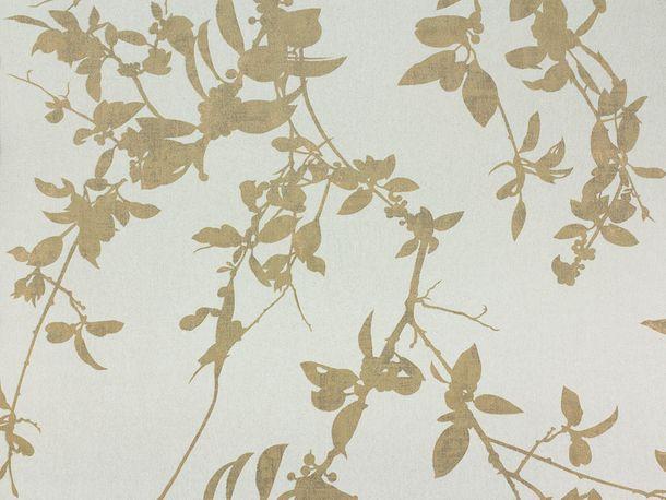 Vliestapete Fuggerhaus Blätter gold Metallic 4808-46 online kaufen