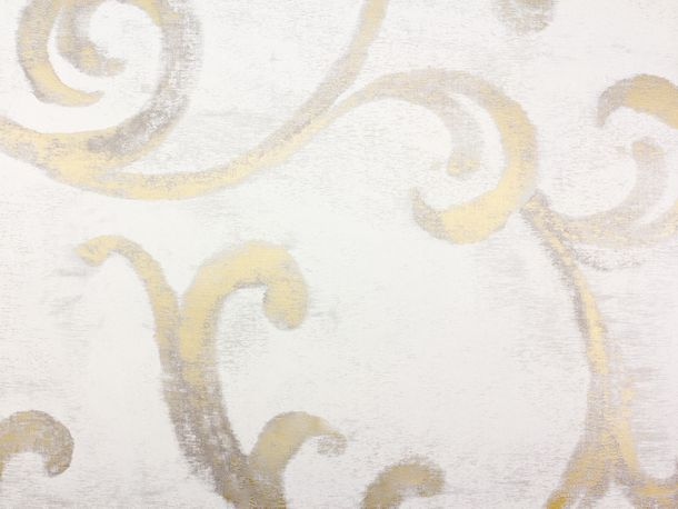 Wallpaper Fuggerhaus tendril beige grey Metallic 4809-07 online kaufen
