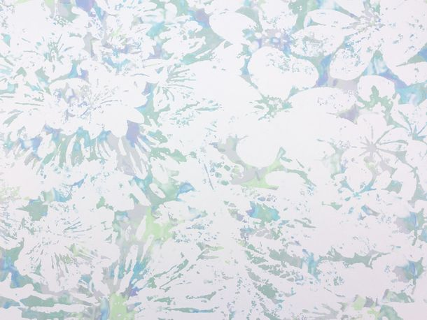 Wallpaper Fuggerhaus flower watercolour mint 4810-27 online kaufen