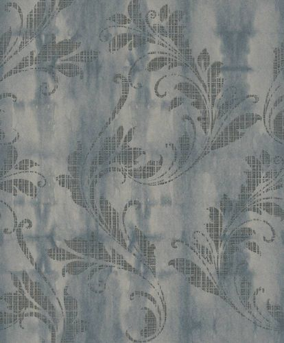 Wallpaper Rasch Textil tendril floral taupe 228075