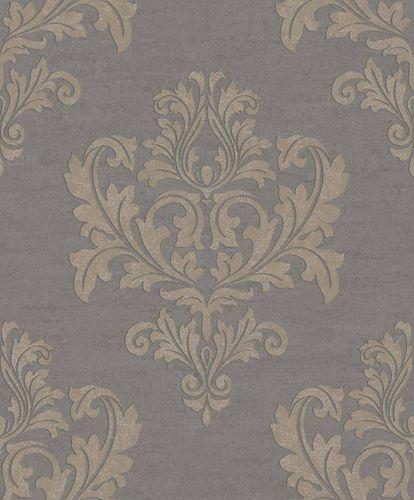 Wallpaper Rasch Textil ornament taupe gloss 228259 online kaufen