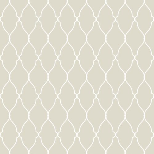 Wallpaper Mariola ornament beige white 070301