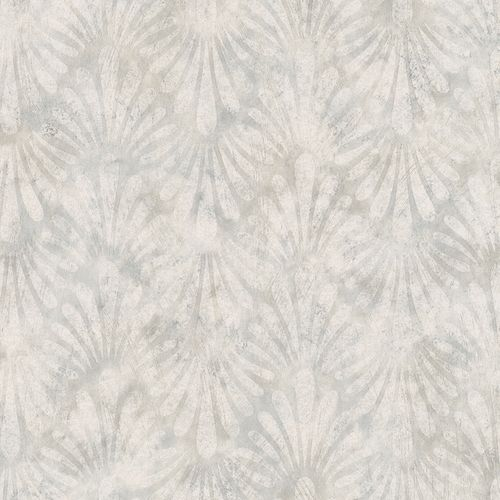 Wallpaper Dieter Langer wave drops grey gloss 58803
