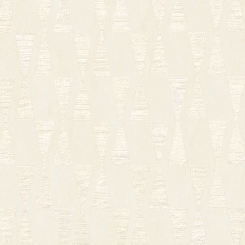 Wallpaper Dieter Langer triangle cream beige gloss 58853