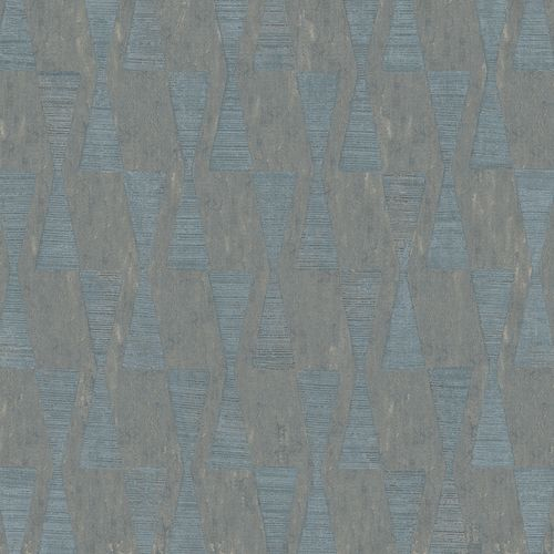 Wallpaper Dieter Langer triangle anthracite gloss 58854 online kaufen