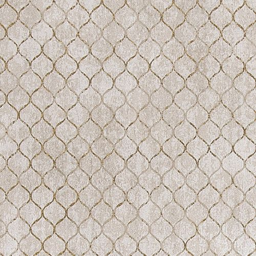 Wallpaper Rasch Textil ornaments taupe gold 381404
