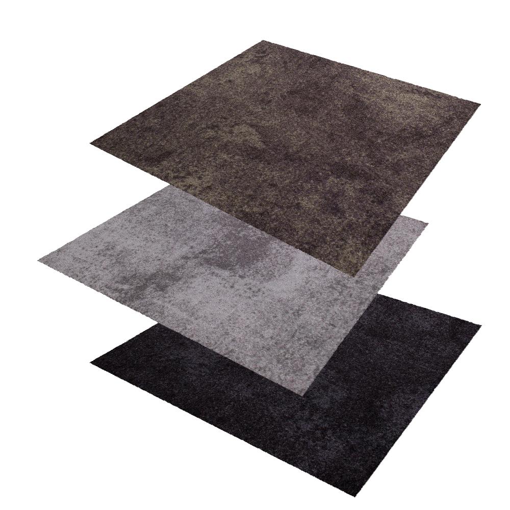 objekt teppichfliesen beton optik fliese gewerbe 50x50cm. Black Bedroom Furniture Sets. Home Design Ideas