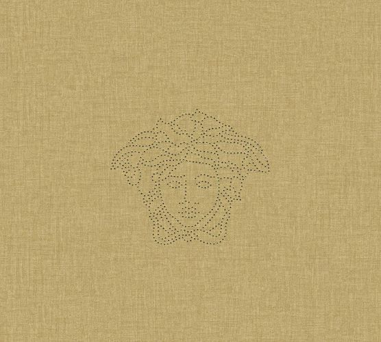 Wallpaper panel Versace Home Medusa linen gold 32950-3 online kaufen