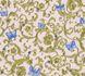Wallpaper Versace Home tendril rosé blue glitter 34325-6 001
