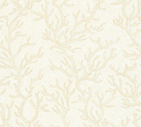 Tapete Versace Korallen beige creme Metallic 34497-1