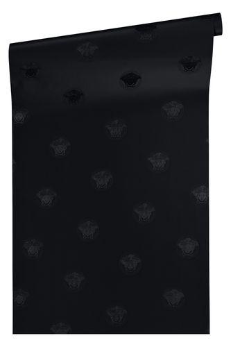 Wallpaper Versace Home Medusa black metallic 34862-2 online kaufen
