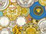 wallpaper Versace Home plates design metallic 34901-1 1