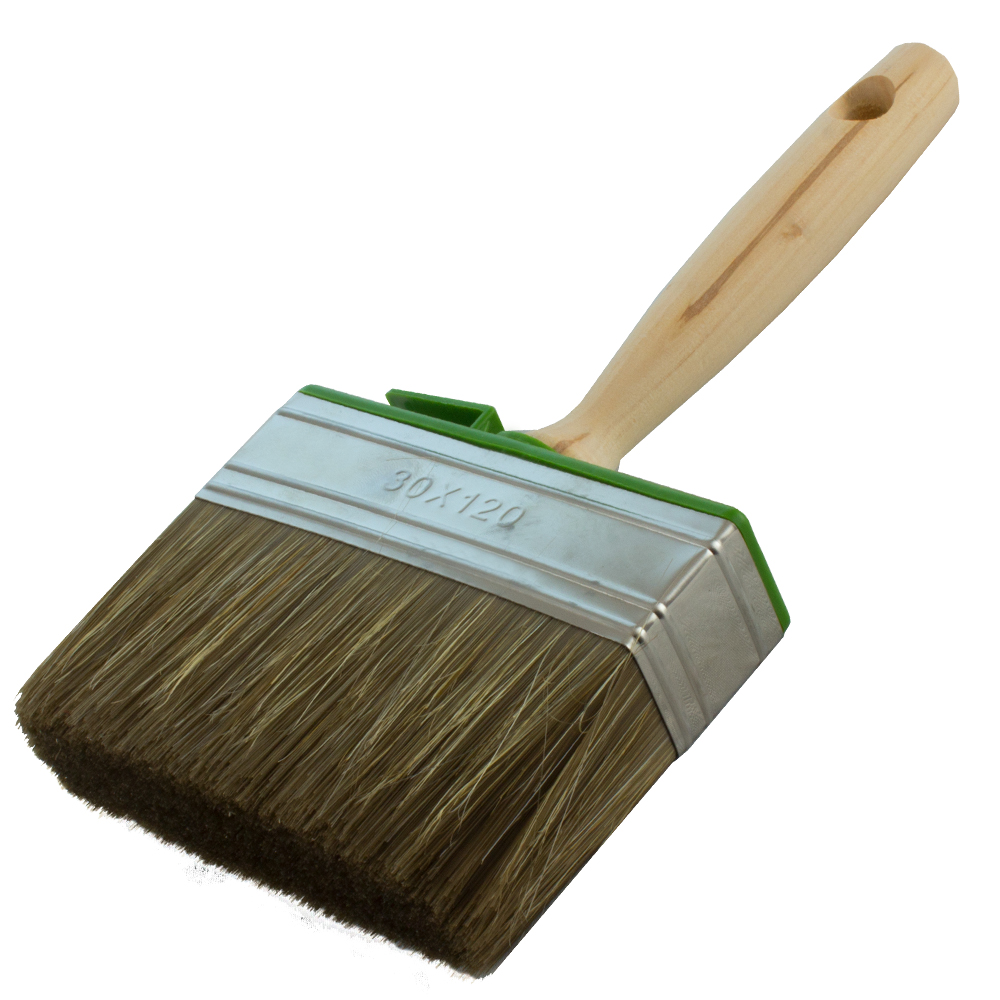 Flat Paint Brush For Paint And Lacquer 3x12cm