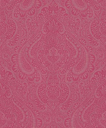 Wallpaper Rasch Textil ornaments berry glitter 227887