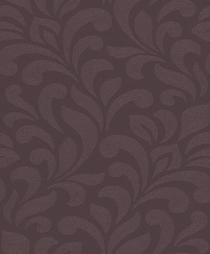 Wallpaper Rasch Textil tendril brown glitter 227900