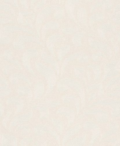 Wallpaper Rasch Textil tendril silver white 227924