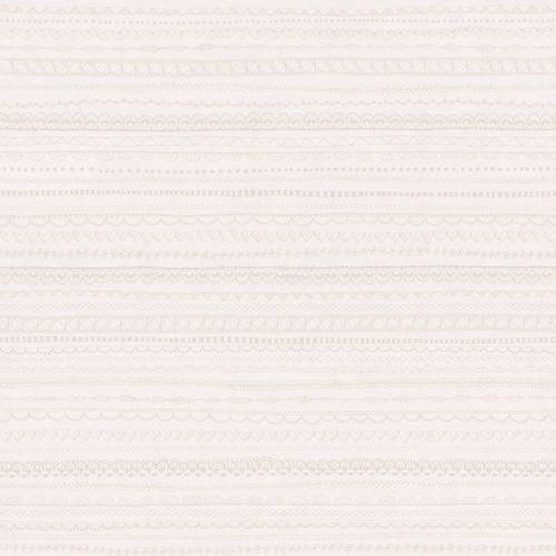 Tapete Mädchen Muster weiß silber Glanz 138839