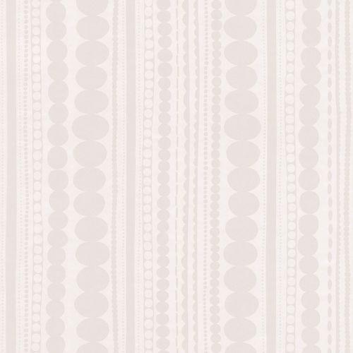 Tapete Mädchen Ethno weiß silber Glanz 138836