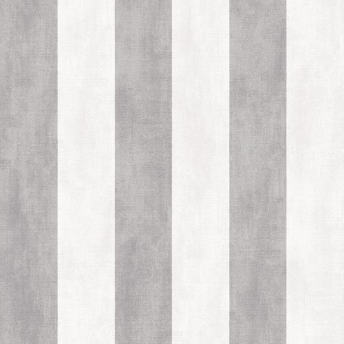 Wallpaper Rasch Textil stripes grey white grey 107117 online kaufen